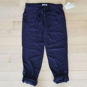 Pants - NWT Lightweight Navy Capris Size 0